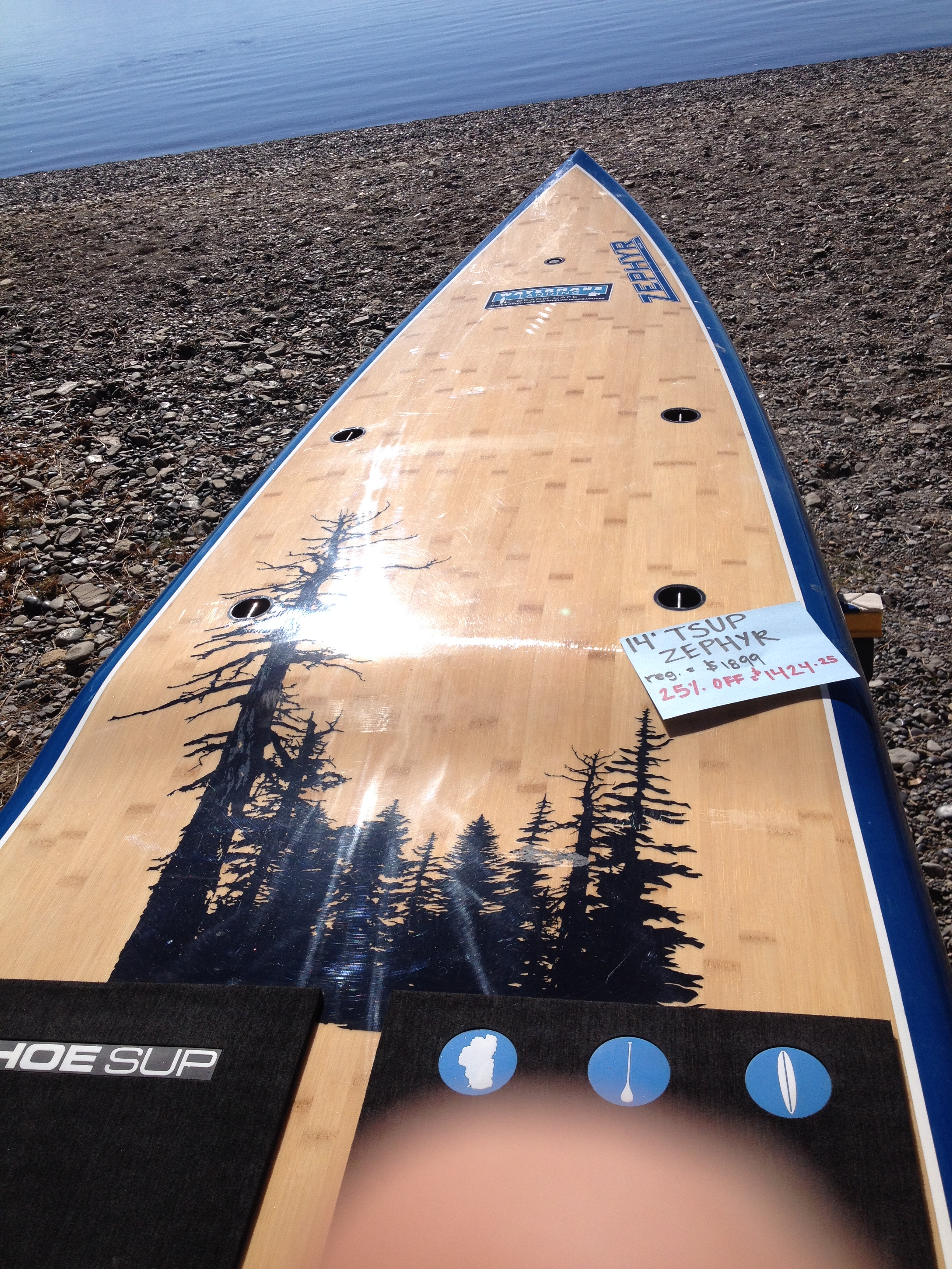 Tahoe Sup Zephyr 14 For Sale >> SALES AND DEALS | Waterman's Landing Beach Cafe